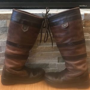 Dubarry Galway Boots Walnut Size US 6.5